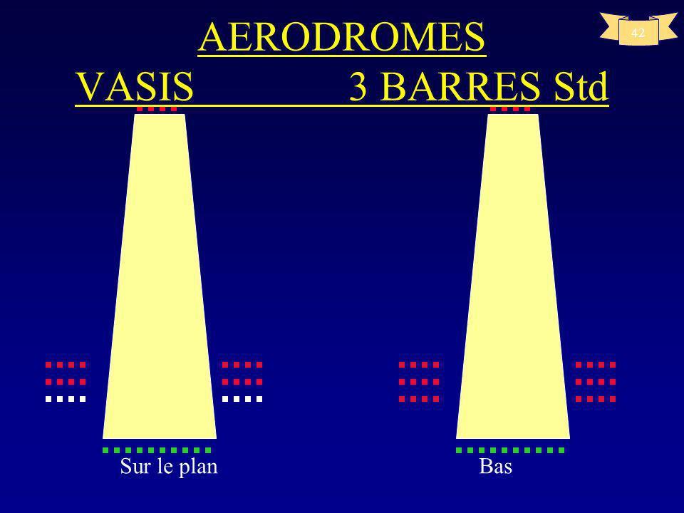 41 T Haut Haut AERODROMES VASIS A14p59 3 BARRES Std