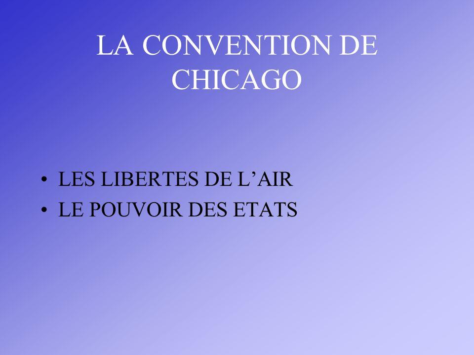 LA CONVENTION DE CHICAGO LES LIBERTES DE LAIR LE POUVOIR DES ETATS