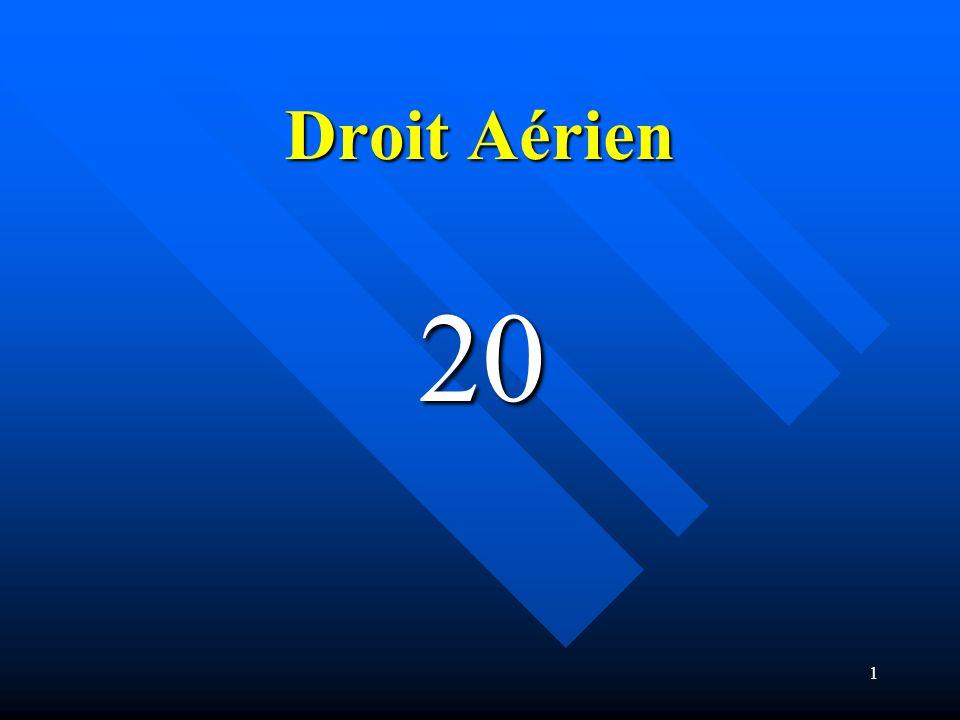 1 Droit Aérien 20