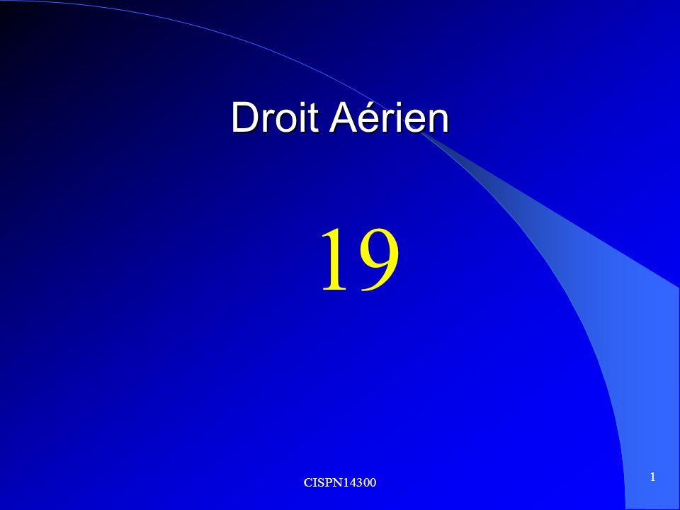 CISPN14300 1 Droit Aérien 19