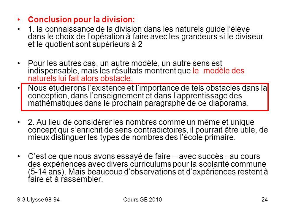 9-3 Ulysse 68-94Cours GB 201024 Conclusion pour la division: 1.