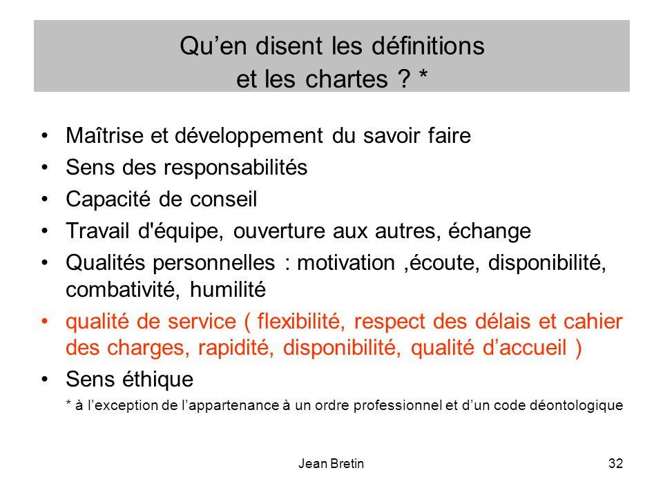 Jean Bretin32 Quen disent les définitions et les chartes .