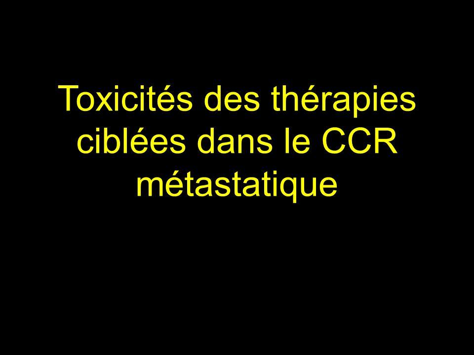 J Taieb, JFPD 2008 Toxicités des thérapies ciblées dans le CCR métastatique