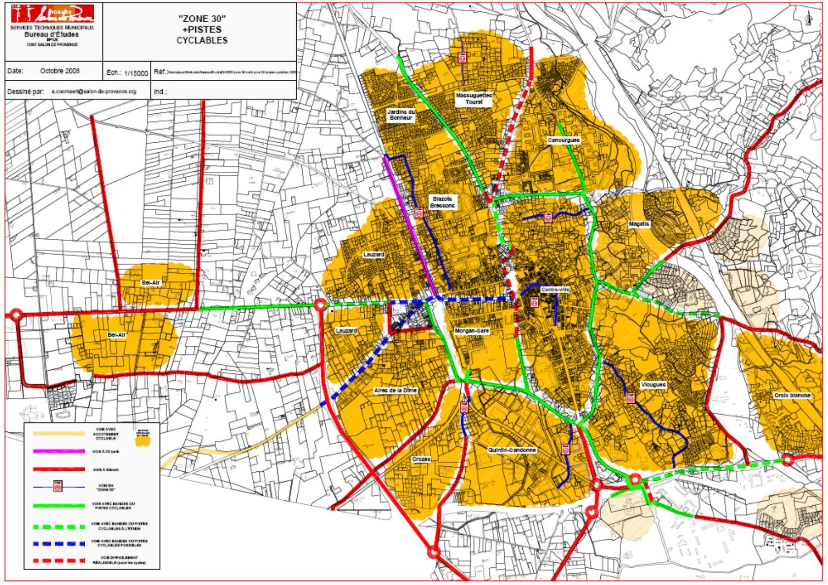 8 SALON DE PROVENCE – étude daménagement du pole intermodal AREP Aménagement recherche pôles déchanges – EGIS-MOBILITE projet final – 2009