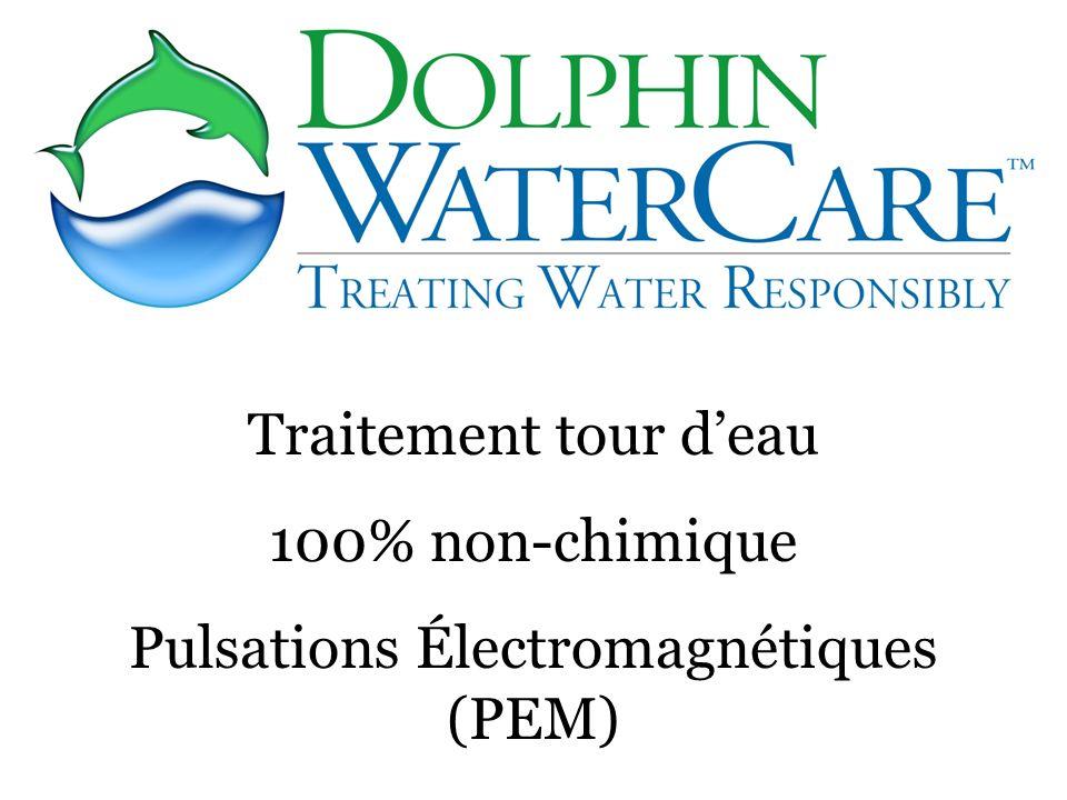 Traitement tour deau 100% non-chimique Pulsations Électromagnétiques (PEM)