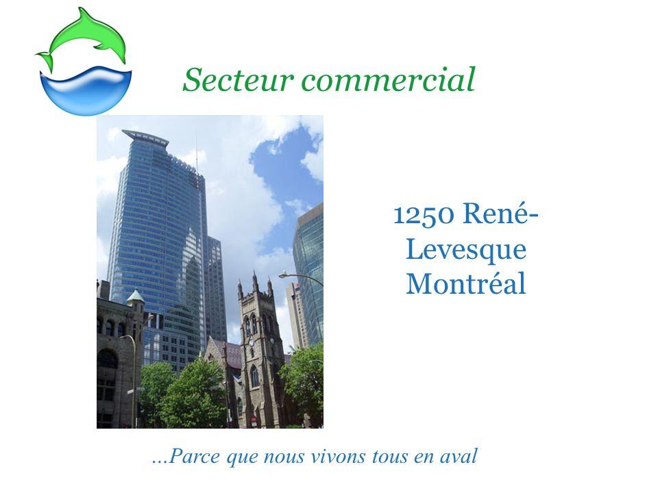 1250 René- Levesque Montréal Secteur commercial …Parce que nous vivons tous en aval
