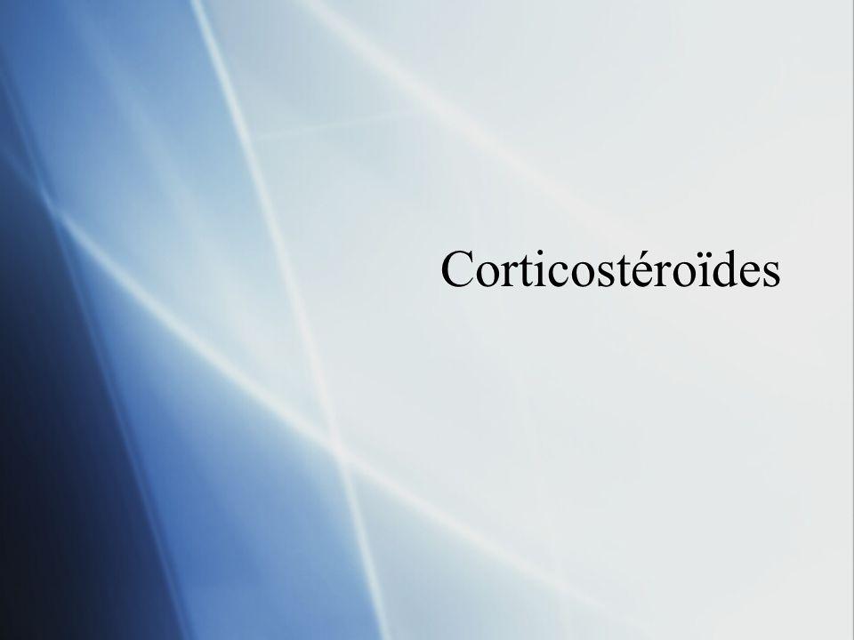 Corticostéroïdes