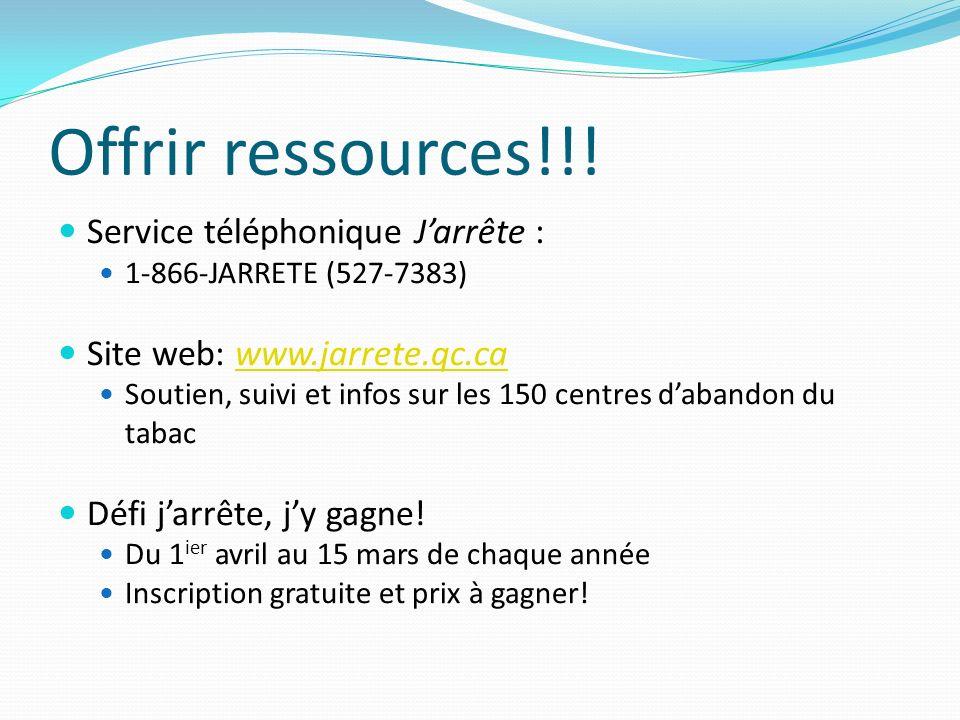 Offrir ressources!!.
