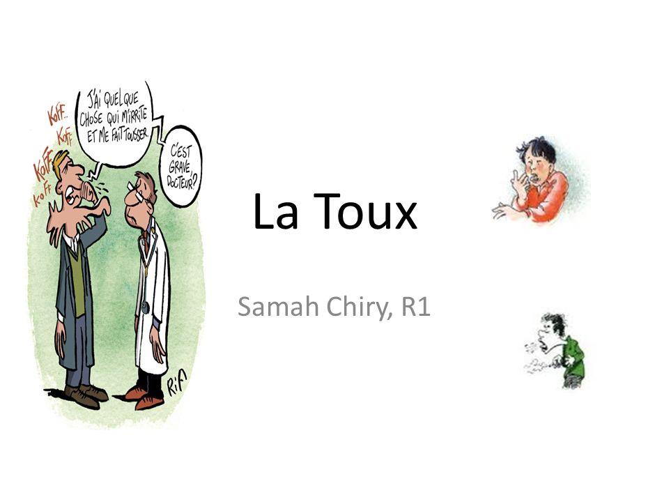 La Toux Samah Chiry, R1