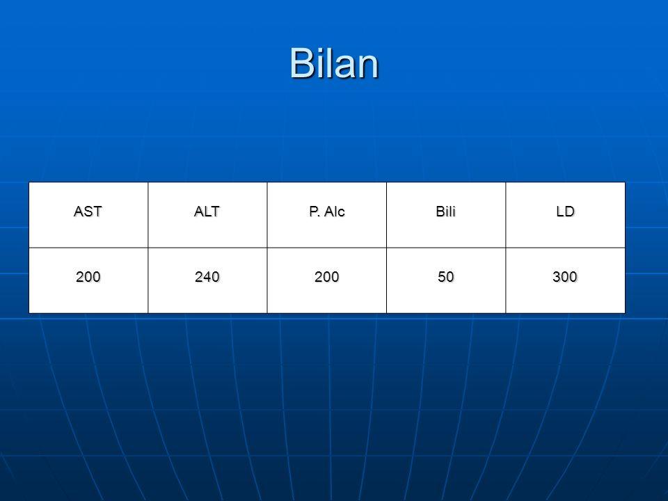 Bilan ASTALT P. Alc BiliLD 20024020050300