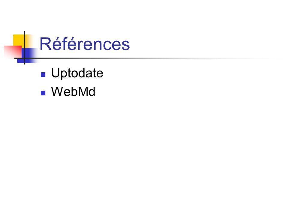 Références Uptodate WebMd