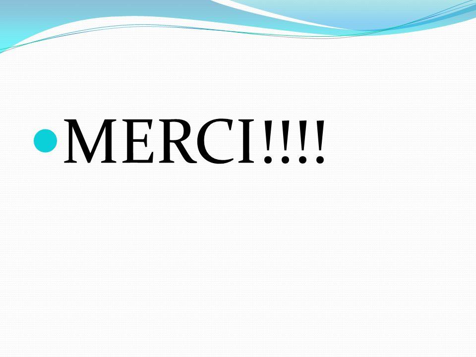 MERCI!!!!