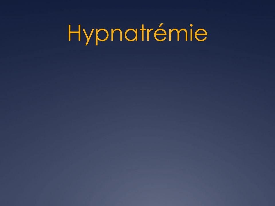 Hypnatrémie