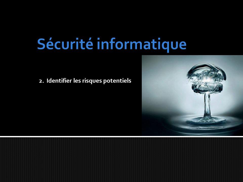 2. Identifier les risques potentiels