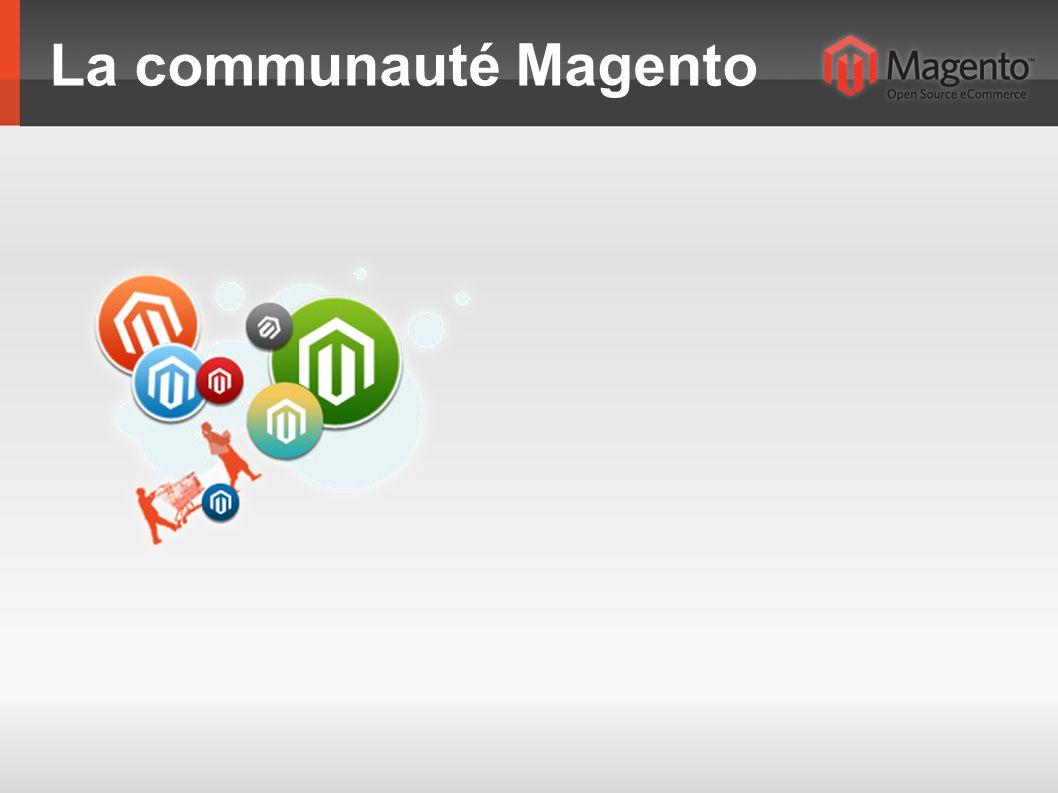 La communauté Magento
