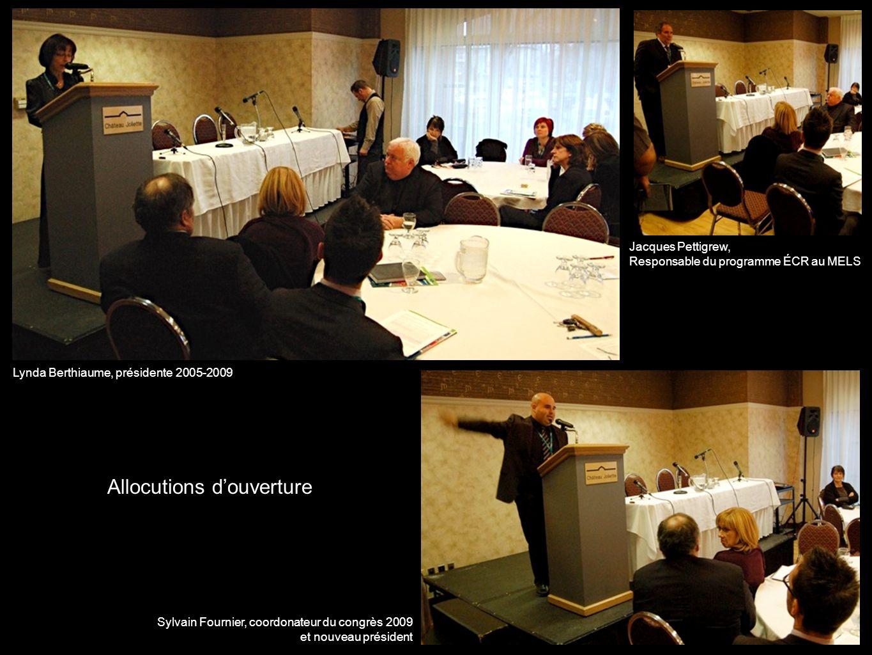 La table ronde «Quelle est la portée du dialogue dans le cours ÉCR?» Avec Mathieu Gagnon Marie-Paule Desaulniers et Jean-Pierre Proulx