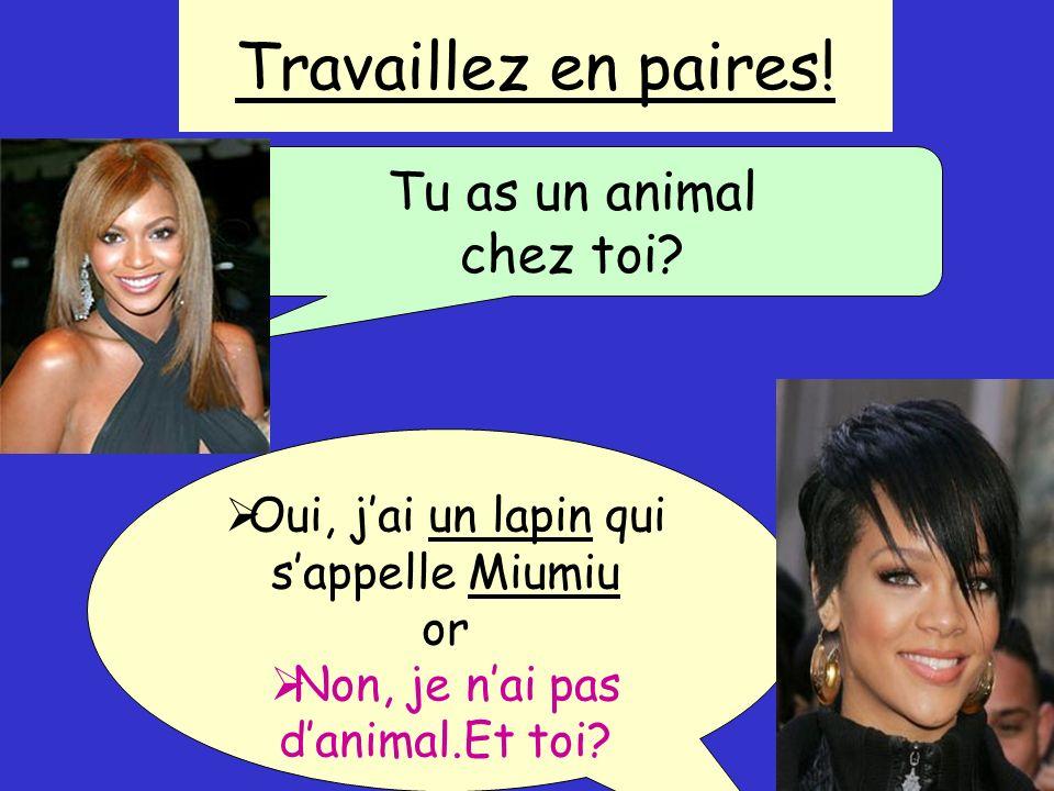 Comment dit-on en françaisI DONT HAVE .
