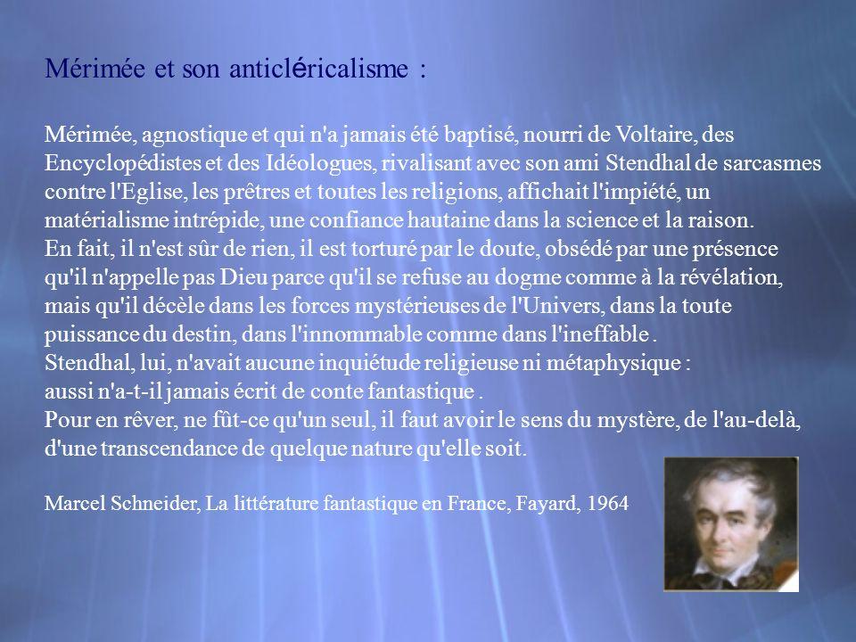 M é rim é e et Carmen : -Cette nouvelle de Prosper Mérimée est publiée le 1er octobre 1845 à Paris dans la Revue des deux mondes.