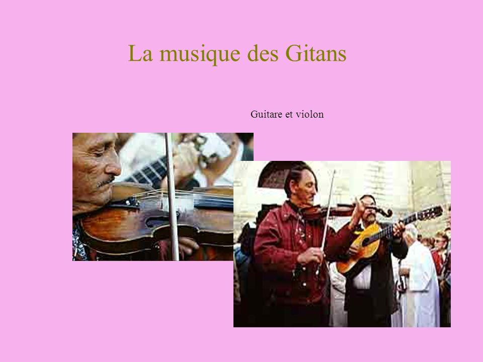La musique des Gitans Guitare et violon