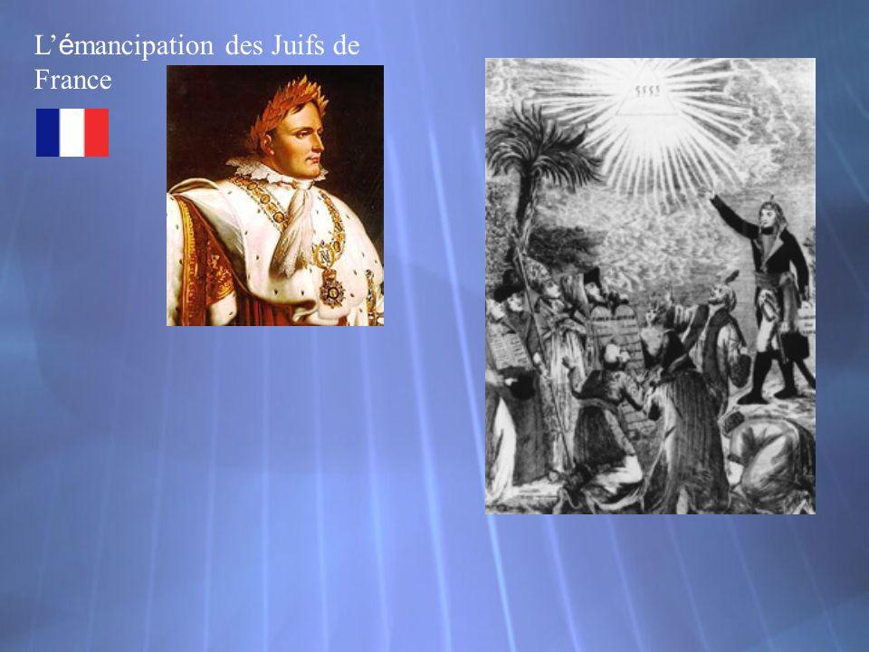 L é mancipation des Juifs de France