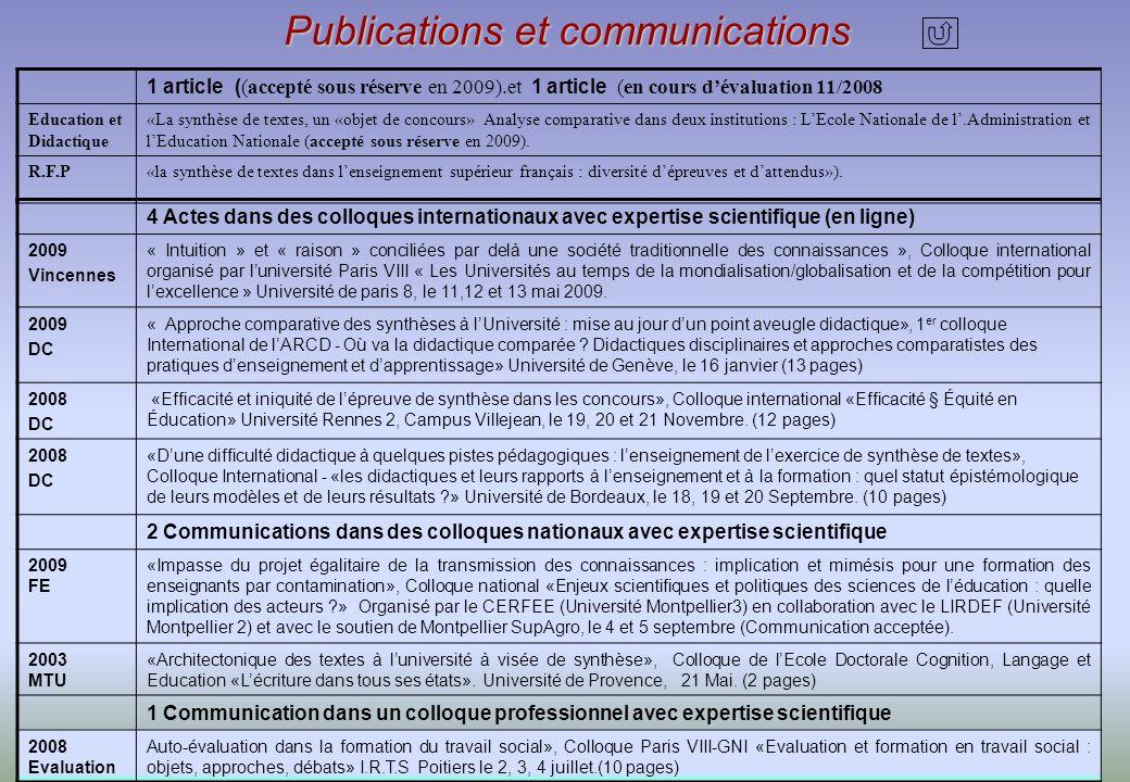 Jean Michel Pérez, Laboratoire UMR-ADEF P3 Université Aix -Marseille, DES APTITUDES A : - concevoir des dispositifs méthodologiques et des évaluations finales.