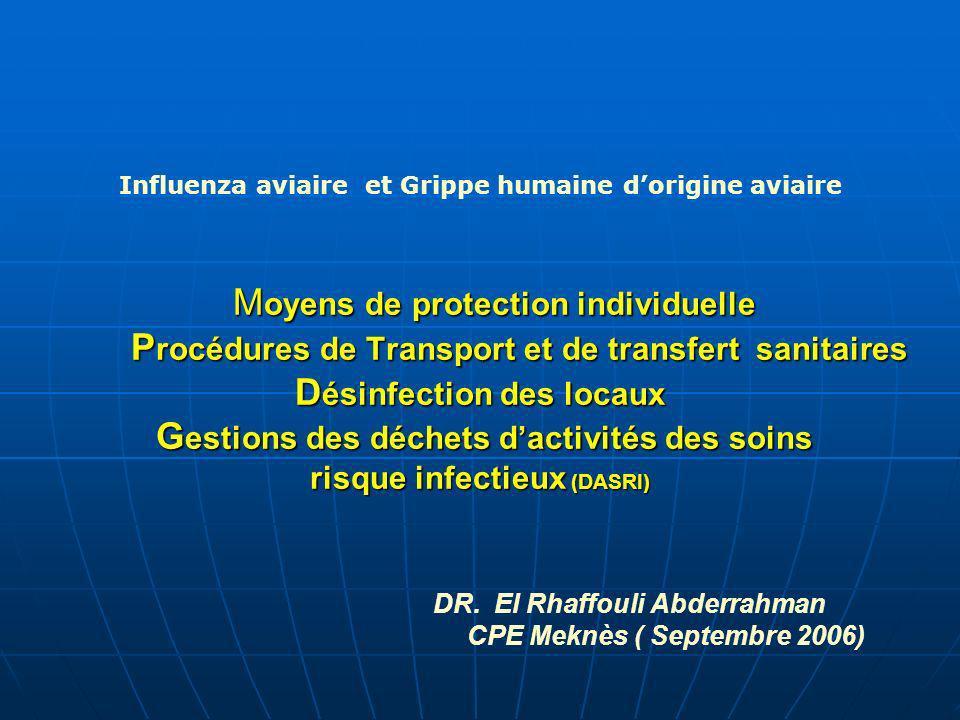 PLAN 1 - OBJECTIF DE LA PROTECTION INDIVIDUELLE.
