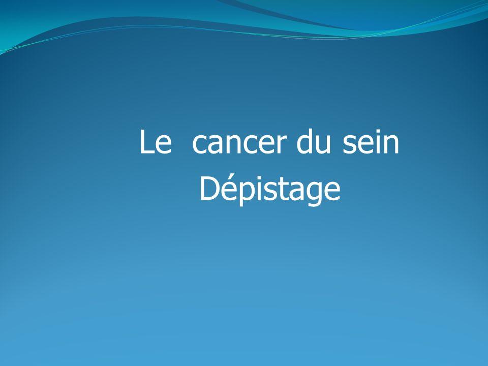 Le cancer du sein est une tumeur maligne de la glande mammaire qui peut sattaquer aux tissus seins avoisinants et se propager à distance.