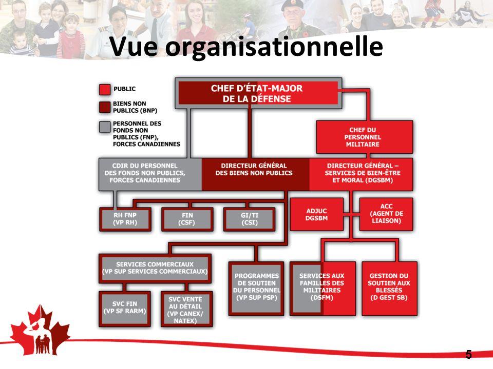 Vue organisationnelle 5