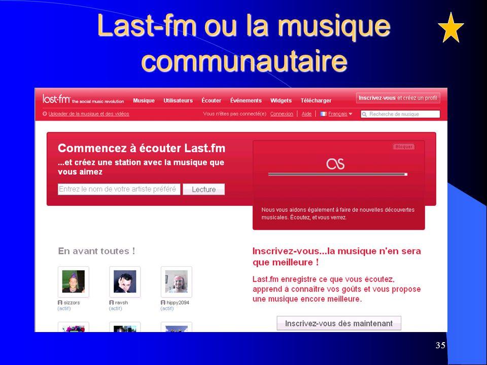 Last-fm ou la musique communautaire 35