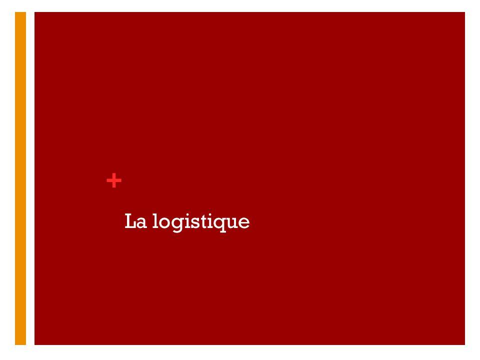 + La logistique