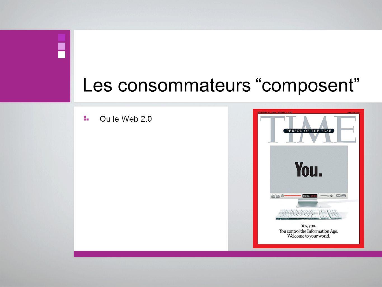Les consommateurs composent Ou le Web 2.0