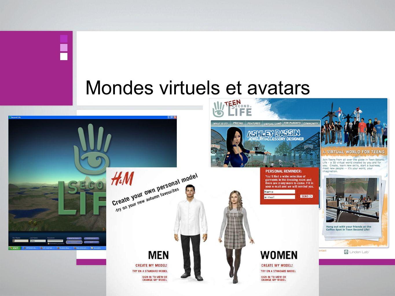 Mondes virtuels et avatars
