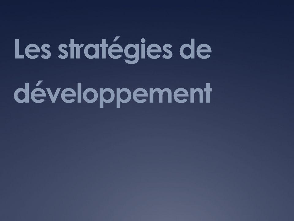 Les stratégies de développement