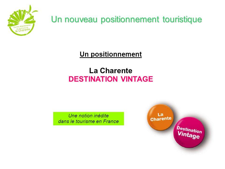 Une signature La Charente, Revisitez vos classiques - impliquante, qui traduit à la fois la dimension classique et intemporelle du territoire et son renouvellement permanent ; invite à re-découvrir...