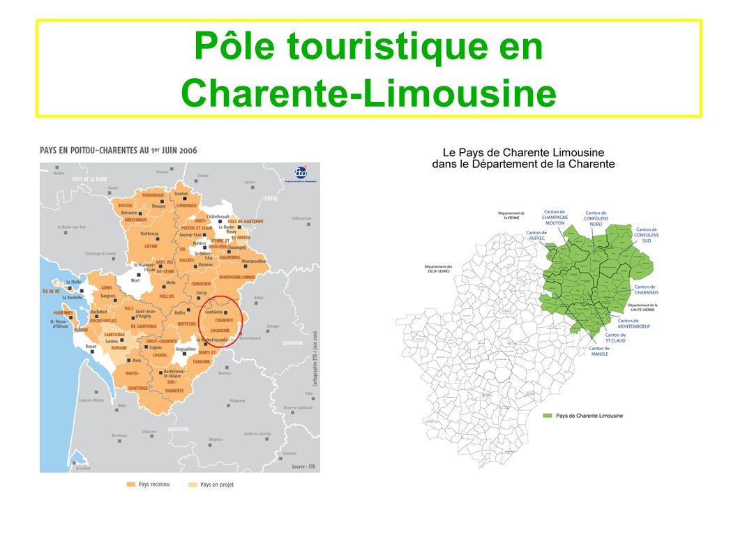 Pôle touristique en Charente-Limousine