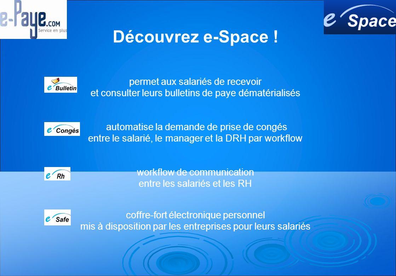 Découvrez e-Space .