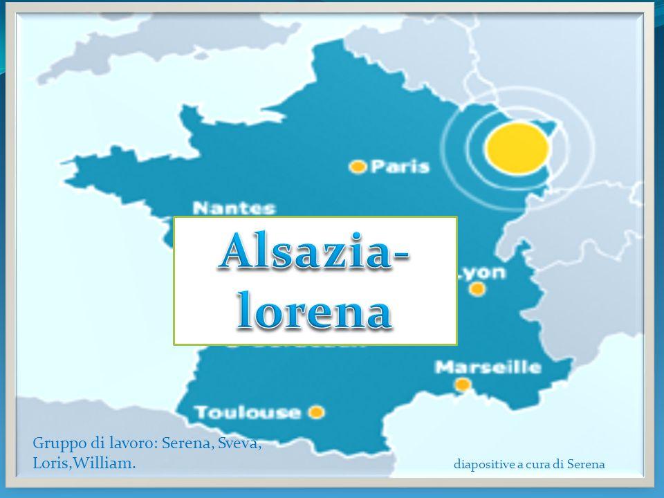 L Alsace-Lorraine est le nom historique d une région à long disputée entre la France et l Allemagne et fait maintenant partie de la France.