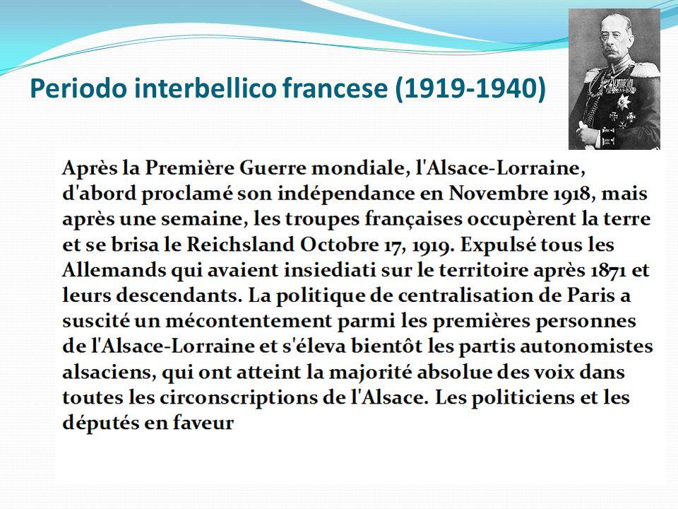 Periodo interbellico francese (1919-1940)