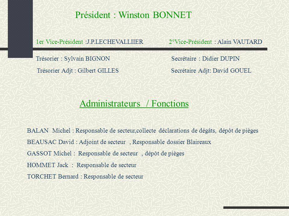 Présidence F.R.A.P.A.N. Membre U.N.A.P.A.F.