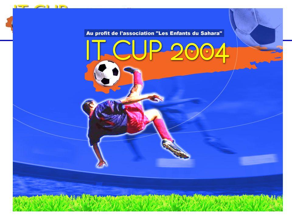 Bilan 2004 15 Mai à Clairefontaine 32 equipes 300 joueurs 500 spectateurs Retombées presse (01, LMI, Distributique, CB News, lExpress, TMC, Equip TV, Beur TV, ….) Vainqueur Air France.