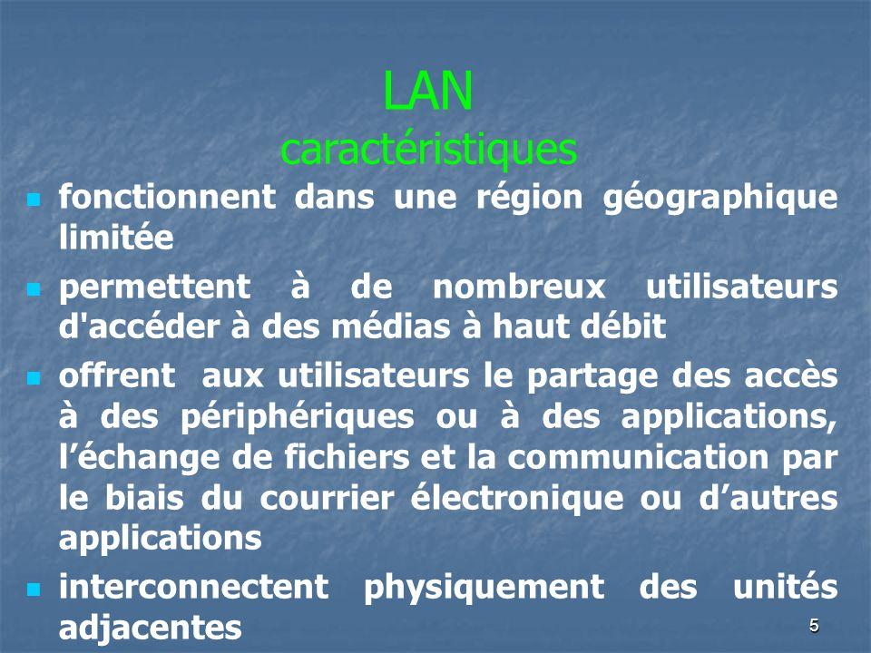 4 Qu'est-ce qu'un réseau Local? Un réseau local est un ensemble de moyens autonomes de calcul (micro-ordinateurs, stations de travail ou autres) relié