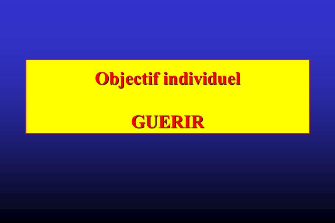 Objectif individuel GUERIR
