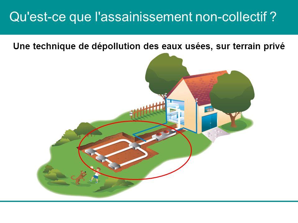 Qu'est-ce que l'assainissement non-collectif ? Une technique de dépollution des eaux usées, sur terrain privé