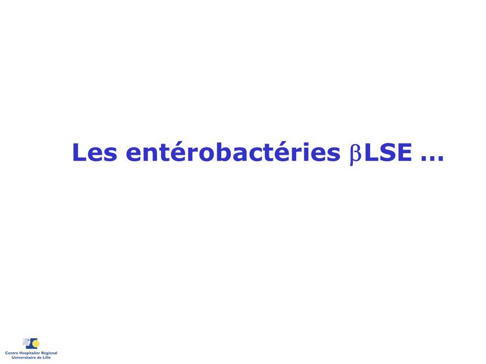 Les entérobactéries LSE …