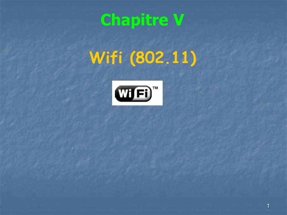 1 Chapitre V Wifi (802.11)