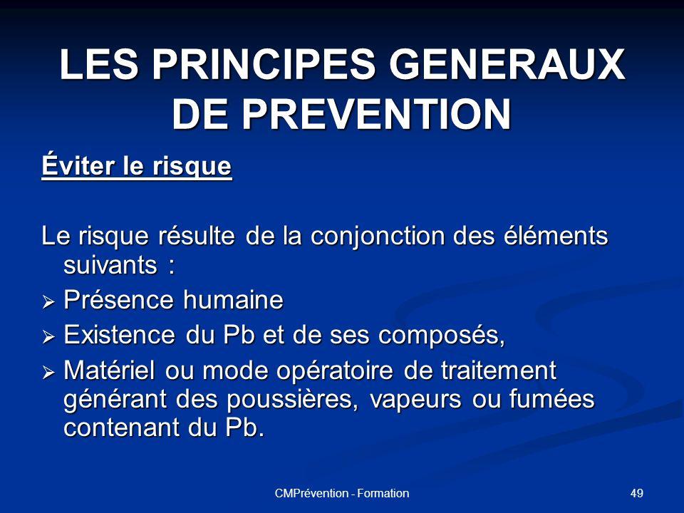 48CMPrévention - Formation Les recommandations de l'ADEME pour la mise en décharge des menuiseries cérusées. Les recommandations de l'ADEME pour la mi