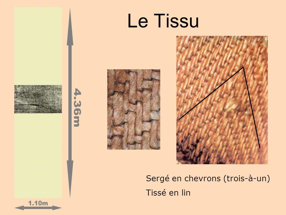 Le Tissu Sergé en chevrons (trois-à-un) Tissé en lin