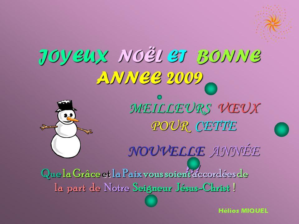 JOYEUX JOYEUX NOËL ET ET BONNE ANNEE 2009 MEILLEURS VŒUX POUR CETTE NOUVELLE A A A ANNÉE !!.