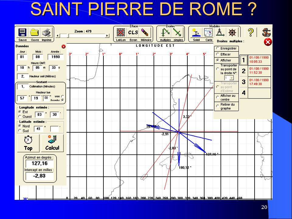 20 SAINT PIERRE DE ROME ?