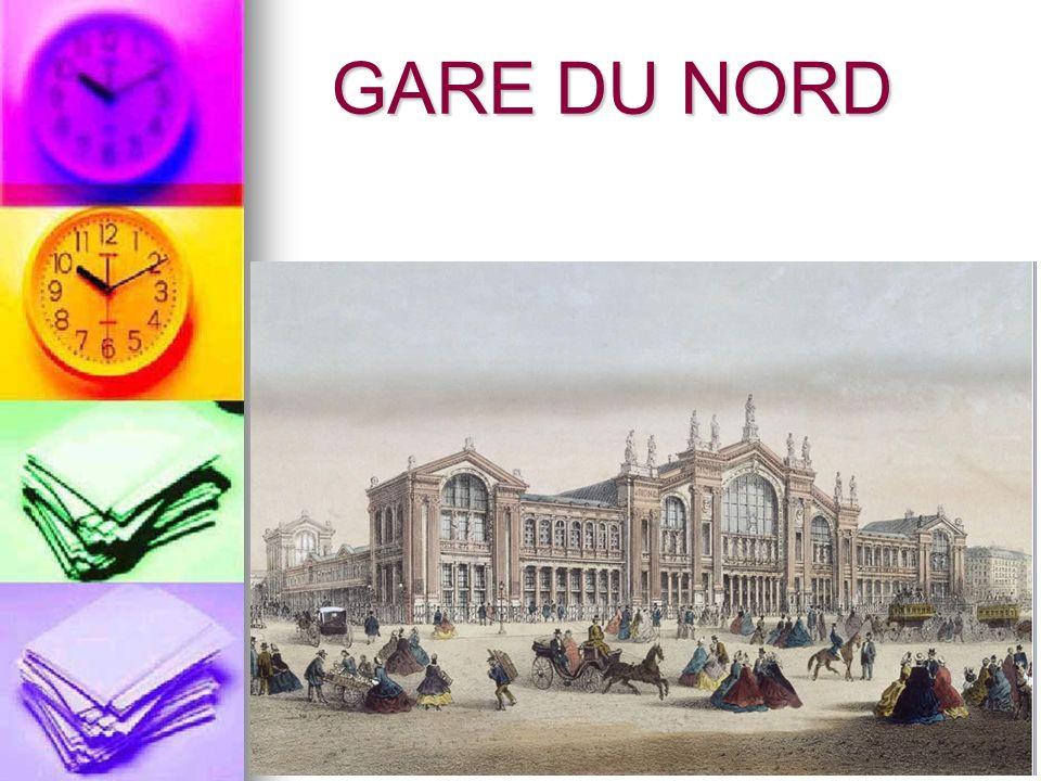 Chronologie 14 juin 1846 – Inauguration de lembarcadère des Chemins de fer du Nord avec la ligne Paris-Lille.